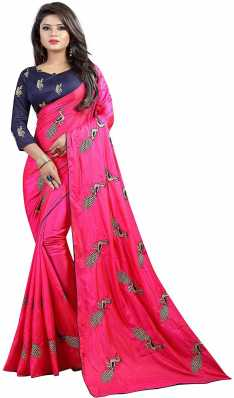 13a5f038d5eb43 Heavy Work Sarees - Buy Heavy Net Sarees With Stone Work Online at ...