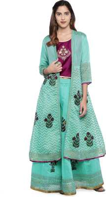 2d16e311ba Top And Skirt Set - Buy Top And Skirt Set Ethnic Sets Online at Best ...