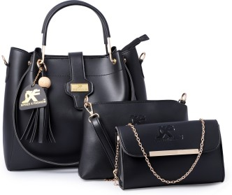 Ladies\Girls New Soft Leather Bag 2 Zips Back /& Top Zip Best Quality