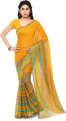c424bde408 Yellow Sarees - Buy Yellow Sarees Online at Best Prices In India ...