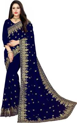 c0d716a5b2 Heavy Work Sarees - Buy Heavy Net Sarees With Stone Work Online at Best  Prices in India | Flipkart.com