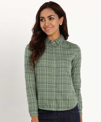 6ce317601a9bd9 Women's Shirts Online at Best Prices In India|Buy ladies' shirts ...