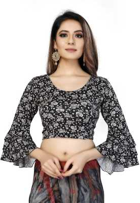 Saree Blouse Buy Designer Readymade Blouses For Women Latest Blouse Designs Patterns Flipkart