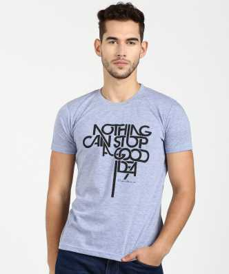 589a104947231 Blue Tshirts - Buy Blue Tshirts Online at Best Prices In India ...