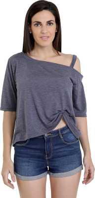 fe5d8c4693b One Shoulder Tops - Buy One Shoulder Tops online at Best Prices in ...