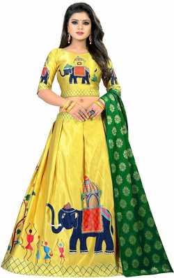 0cb83032b4 Ghagra Choli Dupatta Set Lehenga Cholis - Buy Ghagra Choli Dupatta Set Lehenga  Cholis Online at Best Prices In India | Flipkart.com
