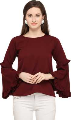 8f3ba969 Shirts Tops Tunics - Buy Shirts Tops Tunics Online at Best Prices In ...