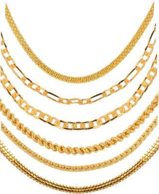 Gold Chains - Gold Chains Designs for Women/Men Online At