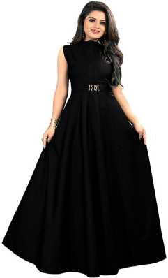 3c1a94aa739a Black Gowns - Buy Black Gowns | Black Evening Gowns Online at Best ...