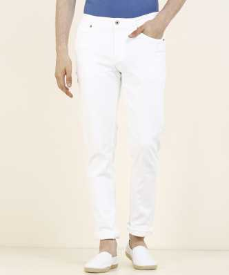 7a0064a50edd8 White Jeans - Buy White Jeans Online at Best Prices In India | Flipkart.com