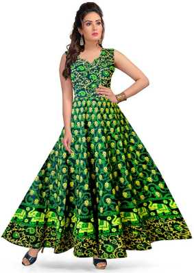 0b9596c0d5 Green Gowns - Buy Green Gowns Online at Best Prices In India ...