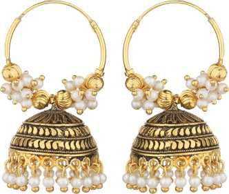 Gold Jhumka Gold Jhumka Designs Online At Best Prices In India