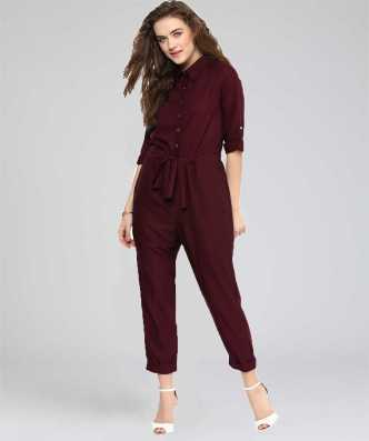 Jumpsuit Buy Designer Fancy Jumpsuits For Women Online At Best Prices In India Flipkart