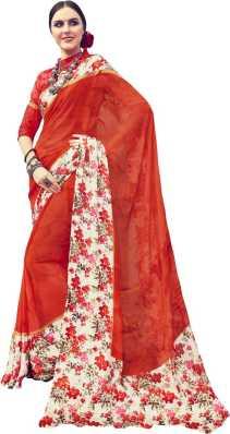 Pure Chiffon Sarees - Buy Pure Chiffon Sarees Online at Best