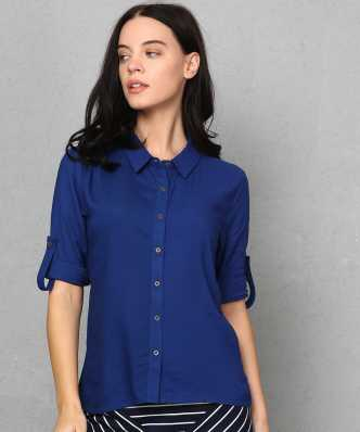 e6f09139a93ba Women's Shirts Online at Best Prices In India|Buy ladies' shirts ...