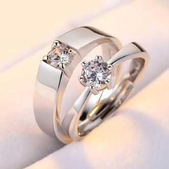 Love Couple Rings Buy Fancy Love Rings Designs Online At Best