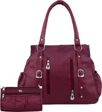 Purple Heart Cat Leather Handbags Purses Shoulder Tote Satchel Bags Womens
