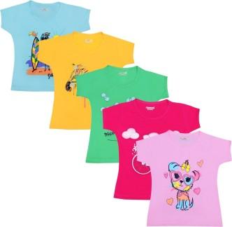 Rainbow Horse Kids Baby Girls Outfits Clothes T-shirt Top Dress+Long Pants Set