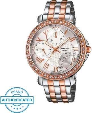 promo code 42493 eb73c Casio Sheen Watches - Buy Casio Sheen Watches online at Best ...