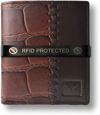 Color : Brown Sun Men Wallet Synthetic Leather Multi-Card Bit Black/Brown Wallets