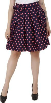 Pink Polka Dot Skirt Flared Women/'s Micro Mini Skirt Pleated Mini Skirt 005