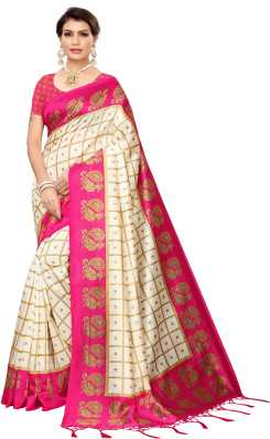 Pink Sarees - Buy Pink Colour Sarees Online at Best Prices