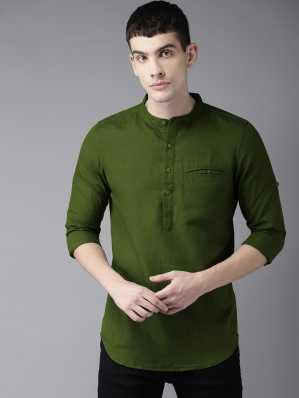 Kurta For Men Buy Mens Kurtas Pajamas Online Designer Kurtas At Best Prices In India