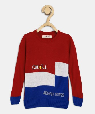 Boys Girls Pullover School Uniform Jumper Top Adults V Neck Plain Sweatshirt