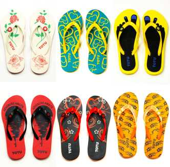 Slippers & Flip Flops For Womens - Buy Ladies Slippers, Chappals ...