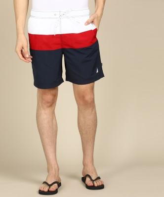 Nautica Mens Floral Casual Walking Shorts
