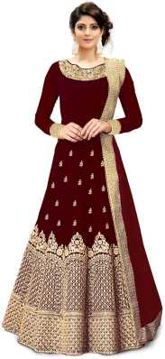 Wedding Gowns Buy Indian Wedding Gowns Dresses For Wedding Online At Best Prices In India Flipkart Com,Long Sleeve Wedding Guest Dresses