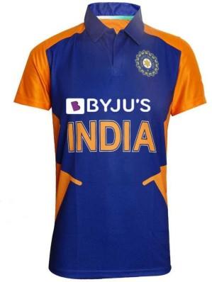 Cricket India Jersey Style Virat 18 Kids Girls Boys Toddler T-shirt