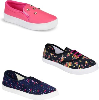 Western Canvas Shoes Beautiful Rose Pattern Blue Polka Canvas Slip-on Casual Printing Comfortable Low Top Mens Casual Sneakers