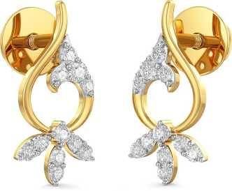 Gold Earrings Best Fancy Latest Gold Earring Designs Gold Ear Tops For Women Online On Flipkart,2 Floor House Interior Design