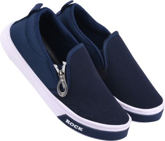 Bright Monochrome Casual Shoes - Buy