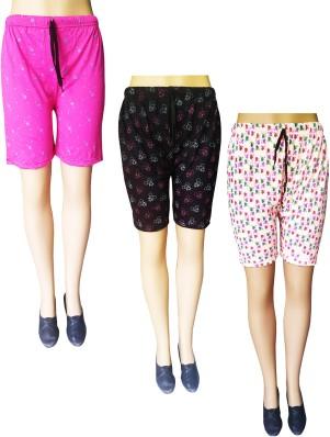 Blue Retro Running Shorts with Hot Pink Trim ExSm