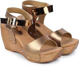 """Baby Blue Ankle Strap Patent Glossy 1//2/"""" Wedge Heels Casual Girls Kids Size 10"""