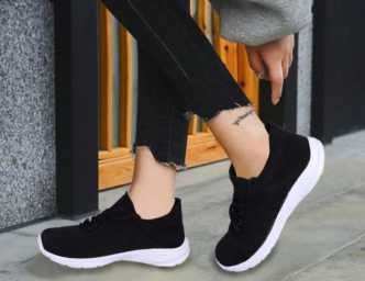 Womens Sports Shoes Running Gym Walking Ladies Trainers Shoes size 3 4 5 6 7 8