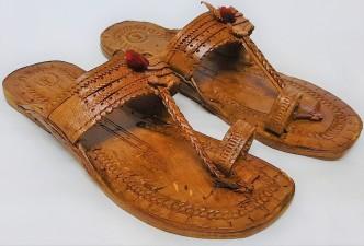 kolhapuri chappals with heels online