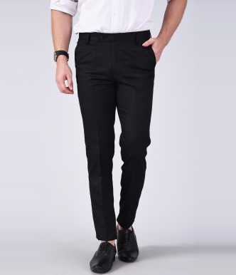 What colour shirt with black trousers