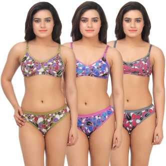 05625d9052 Bra Panty Set Lingerie Sets - Buy Bra Panty Set Lingerie Sets Online at  Best Prices In India