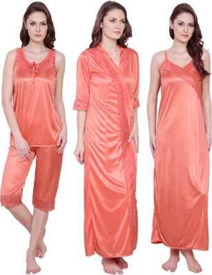 da554fad669 Claura Night Dresses Nighties - Buy Claura Night Dresses Nighties Online at  Best Prices In India