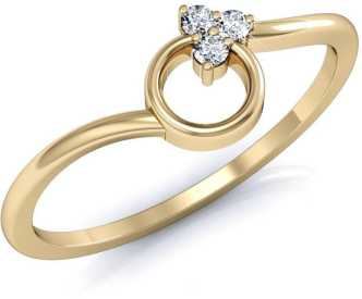 351a256d952d5 Gold Rings - Buy Gold Rings For Women/Girl Online At Best Prices In ...