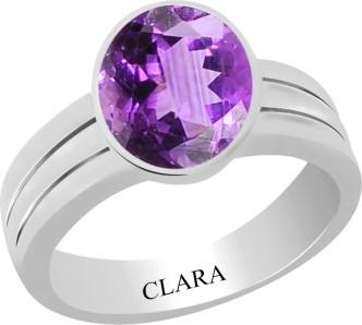 Lehsuniya Clara Mens Certified Cats Eye 8.3Cts Or 9.25Ratti Bold Silver Ring