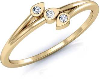 30ce4bc9e03ff Gold Rings - Buy Gold Rings For Women/Girl Online At Best Prices In ...