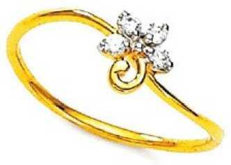cf531e131cf81 Gold Ring Below 6000 - Buy Gold Ring Below 6000 online at Best ...