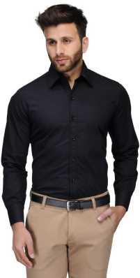 2e4af08f2 Black Formal Shirts - Buy Black Formal Shirts Online at Best Prices ...