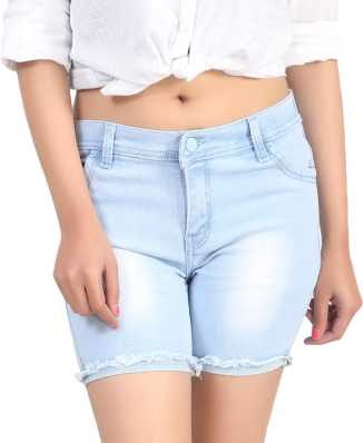 50a34ad1cac3 Women Shorts - Buy Ladies Shorts, Denim Shorts   Hotpants Online ...
