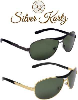 01ee963007 Rectangular Sunglasses - Buy Rectangular Sunglasses Online at Best Prices  in India