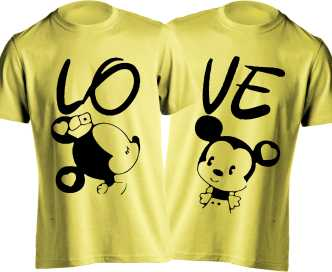 Couple T Shirts - Buy Couple T Shirts online at Best Prices
